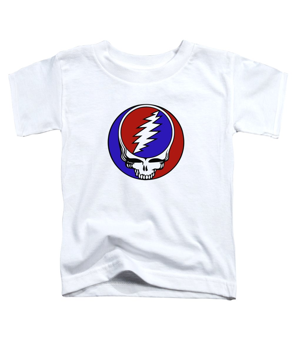 Steal Your Face Toddler T-Shirt featuring the digital art Steal Your Face by Gd