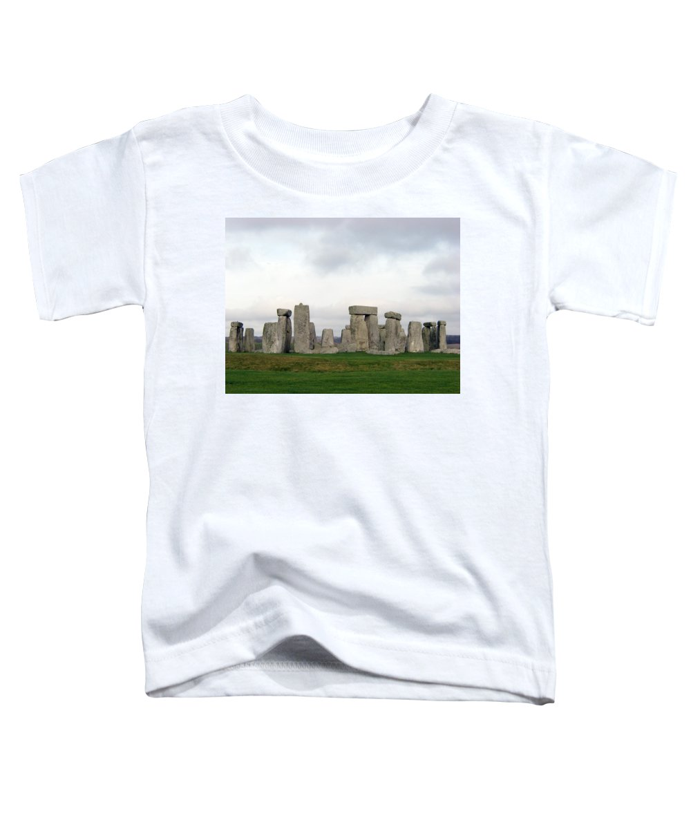 Stonehenge Toddler T-Shirt featuring the photograph Stonehenge by Amanda Barcon