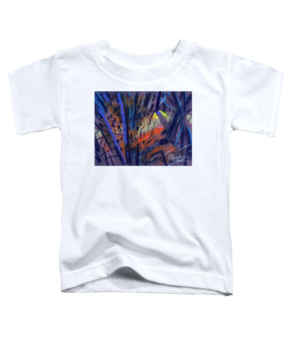 Abstract Toddler T-Shirt featuring the drawing strange Lights by Donald Maier