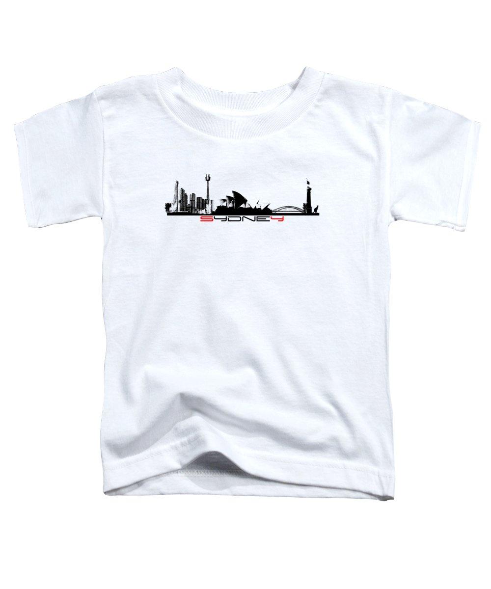 Sydney Skyline Toddler T-Shirts