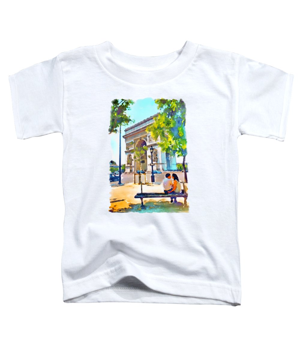 Arched Paintings Toddler T-Shirts