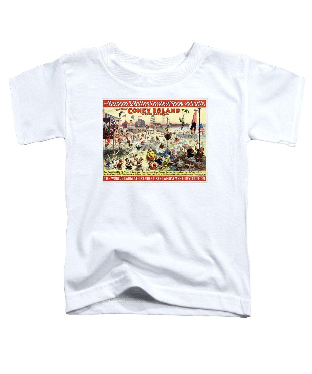 Barnum And Bailey Mixed Media Toddler T-Shirts