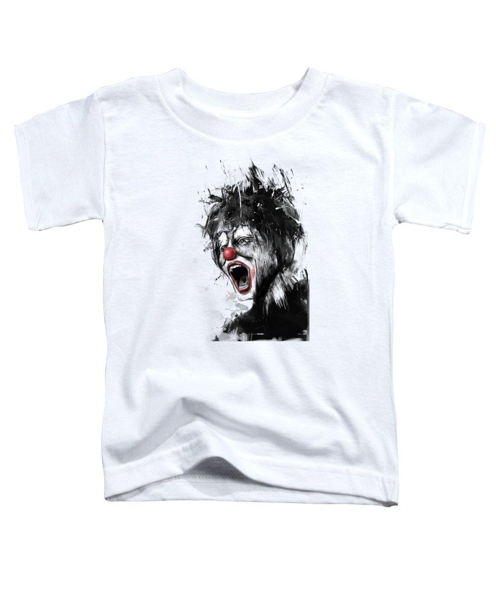Clown Toddler T-Shirts