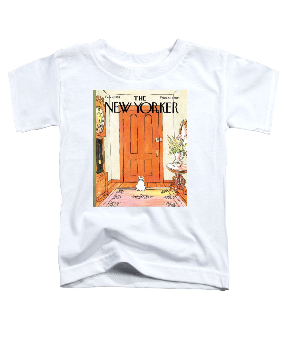 Animal Toddler T-Shirt featuring the photograph The Long Wait by George Booth