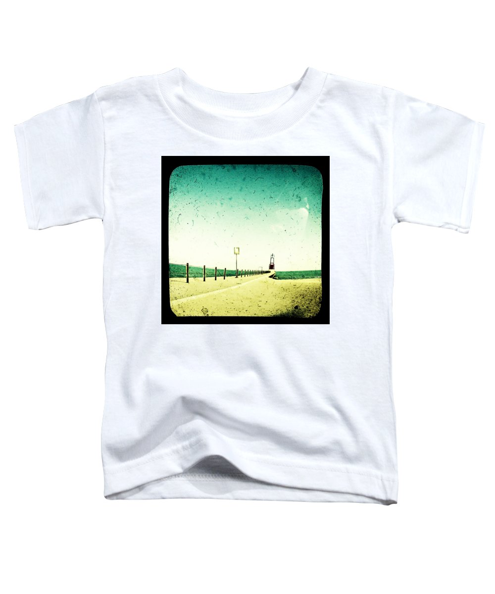 Beach Toddler T-Shirt featuring the photograph These Days Are Gone by Dana DiPasquale