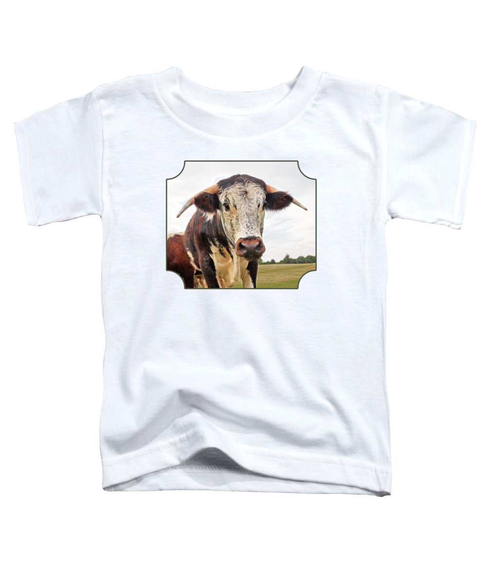 Cow In Pasture Photographs Toddler T-Shirts