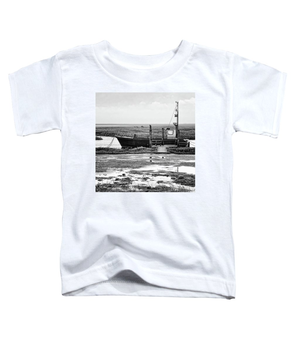 Amazing Toddler T-Shirt featuring the photograph Thornham Harbour, North Norfolk by John Edwards