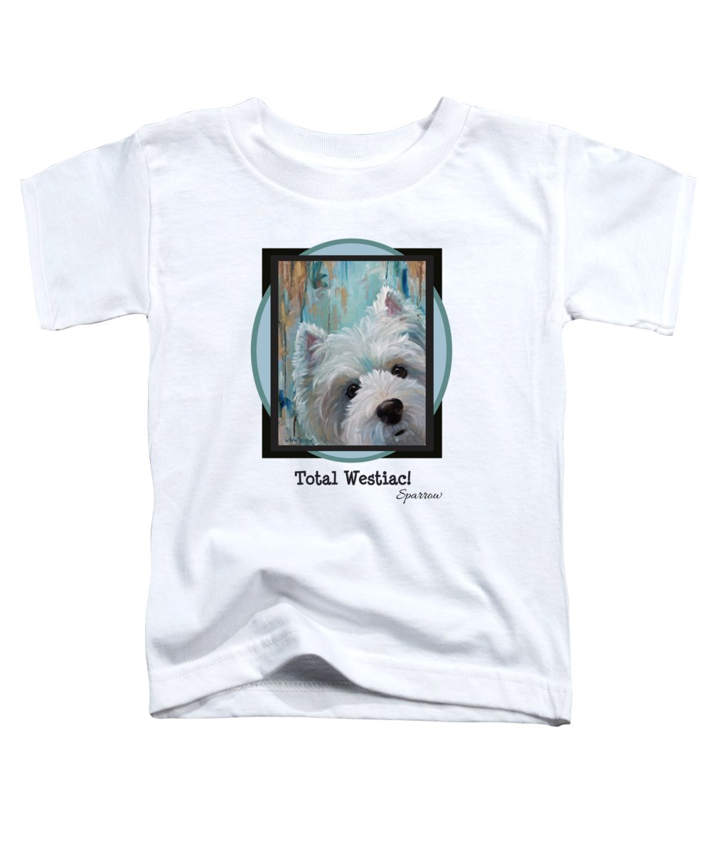 Crazy Paintings Toddler T-Shirts
