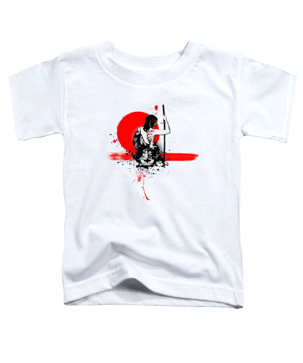 Cherry Blossom Toddler T-Shirts