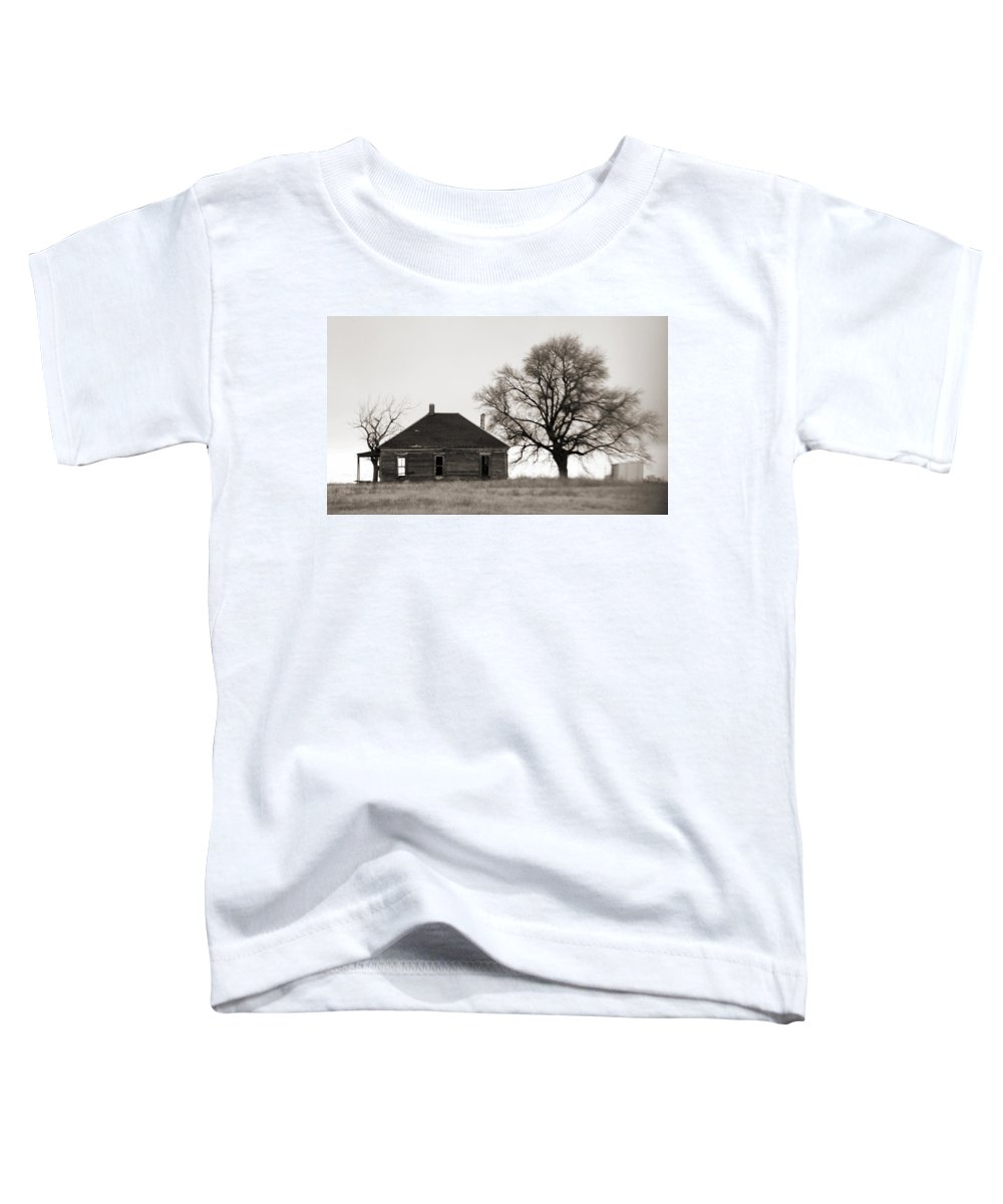 Texas Toddler T-Shirt featuring the photograph West Texas Winter by Marilyn Hunt
