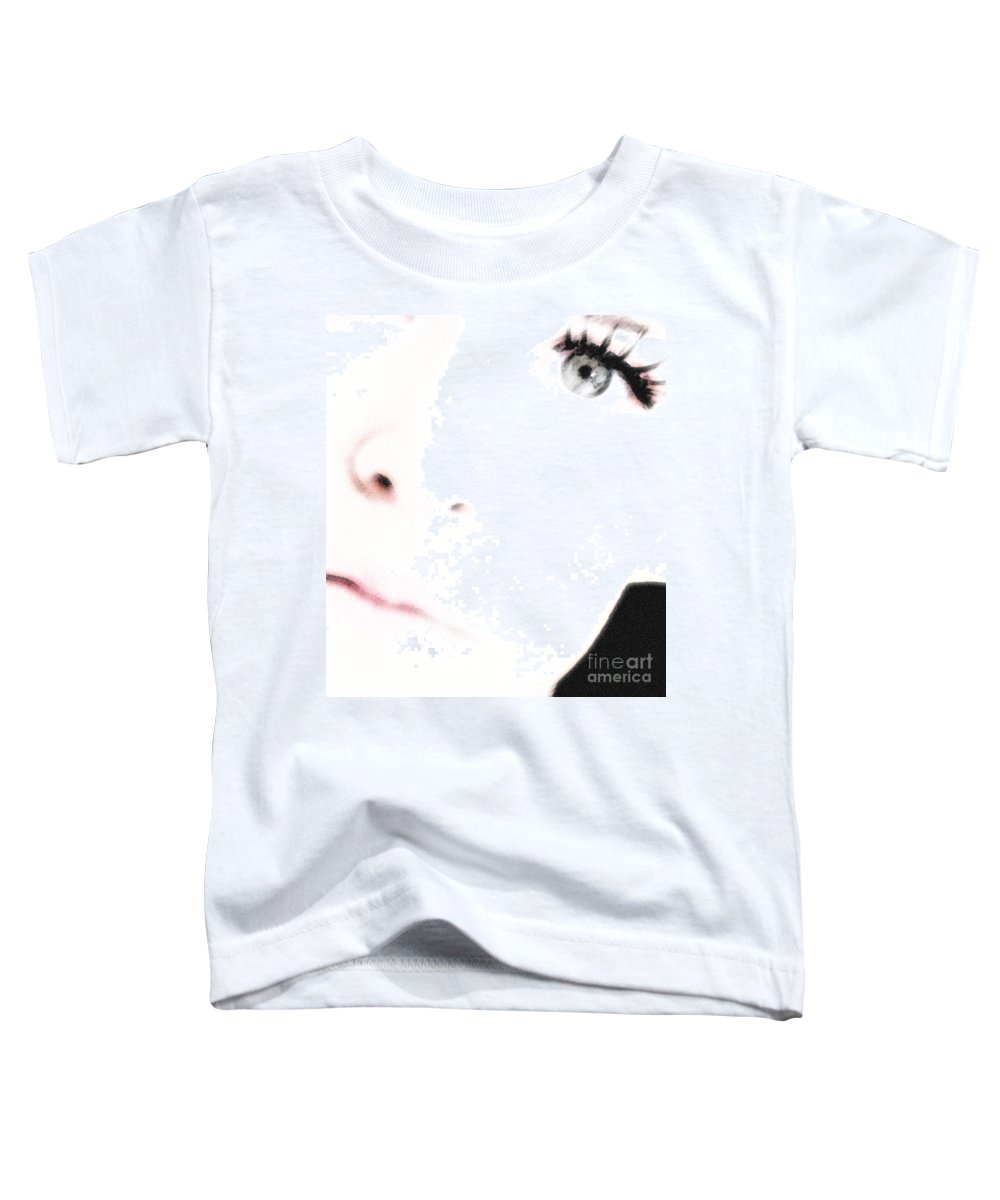 Face Toddler T-Shirt featuring the photograph Where Is The Soul by Amanda Barcon