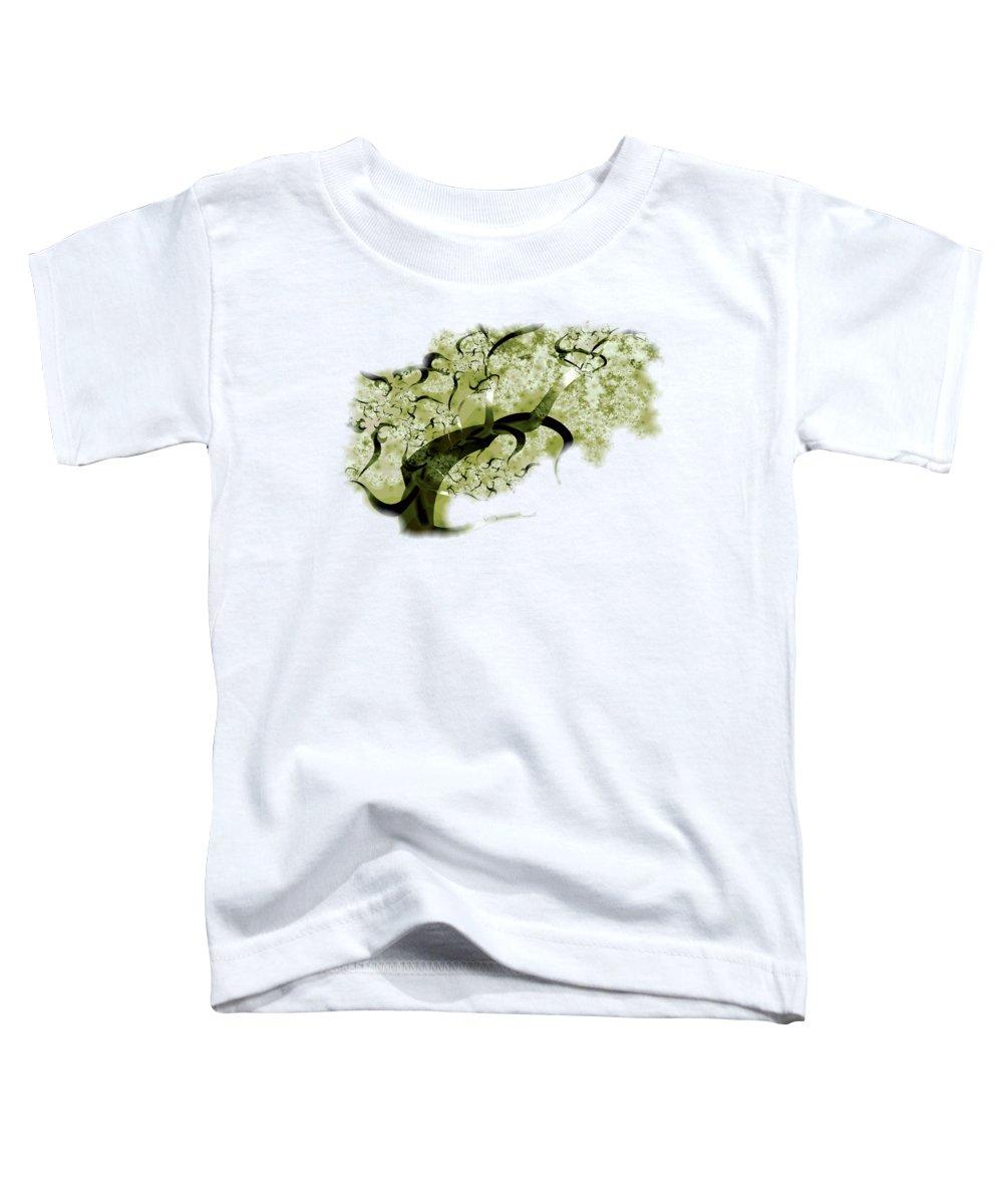 Plants Digital Art Toddler T-Shirts
