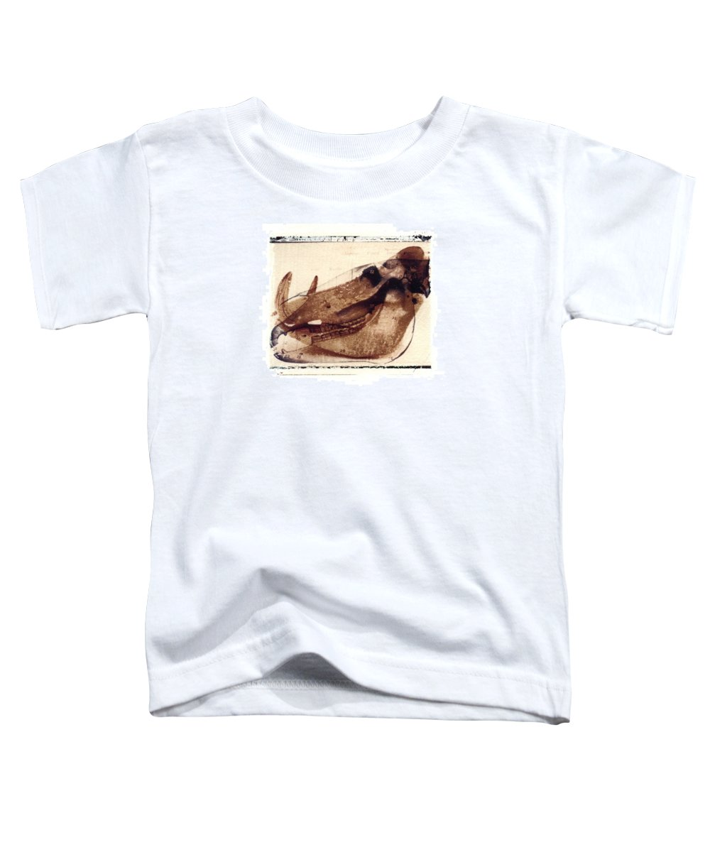 Polaroid Transfer Toddler T-Shirt featuring the photograph X Ray Terrestrial No. 6 by Jane Linders