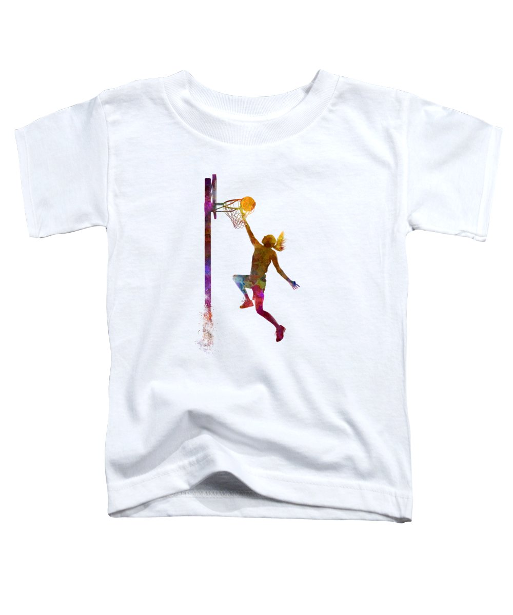 Basketball Toddler T-Shirts
