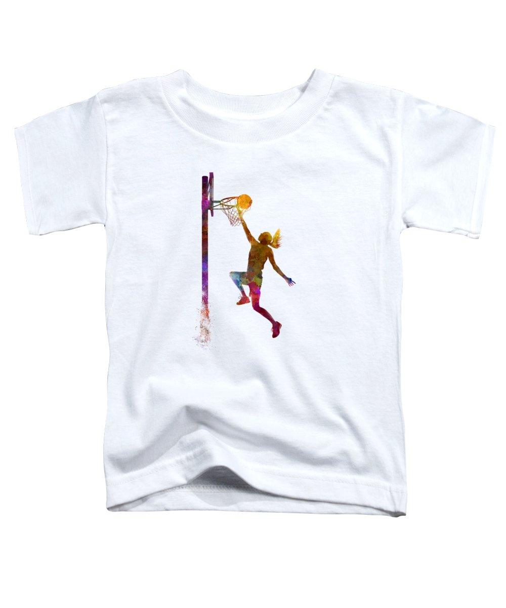 Basketball Toddler T-Shirts