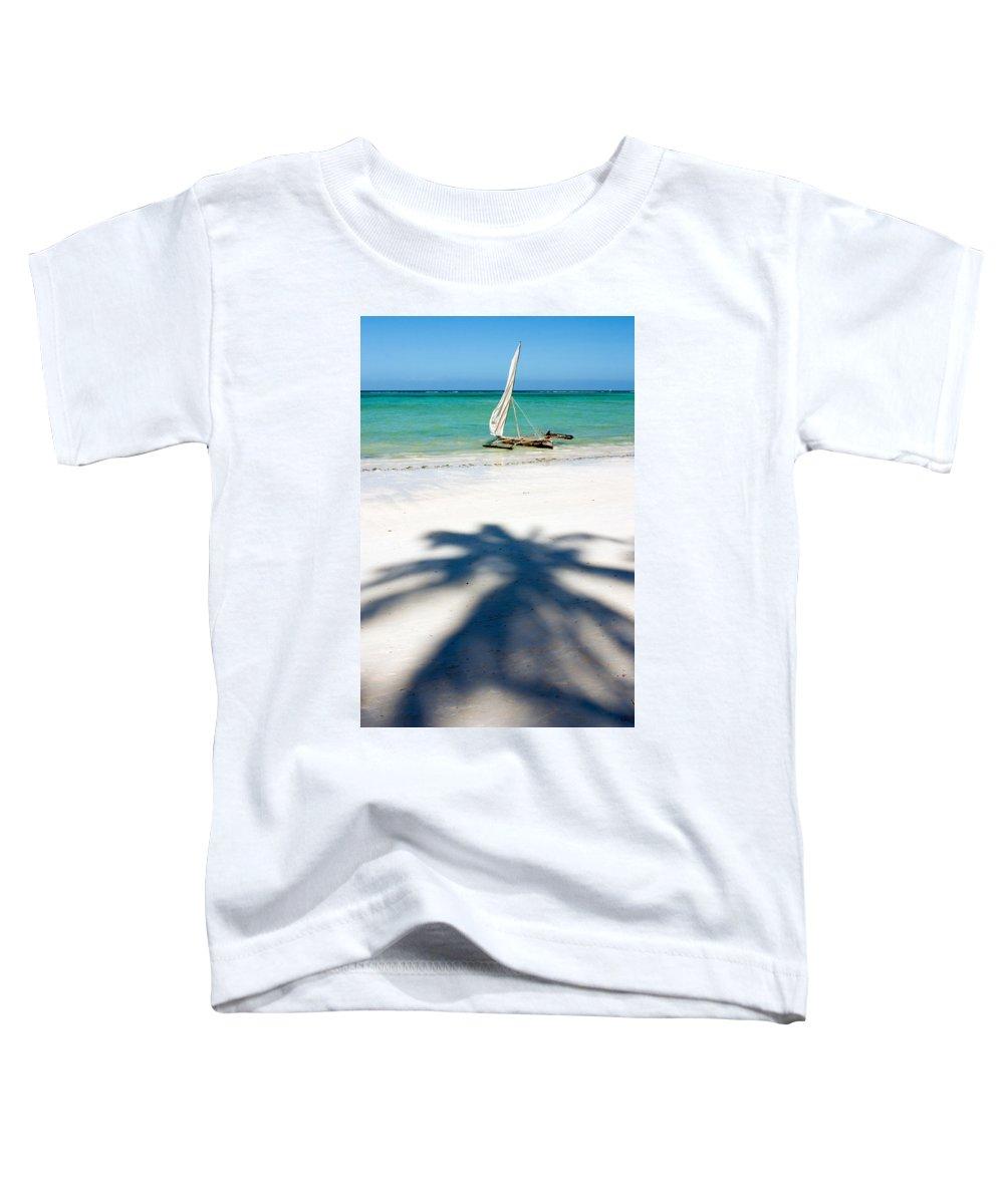 3scape Photos Toddler T-Shirt featuring the photograph Zanzibar Beach by Adam Romanowicz
