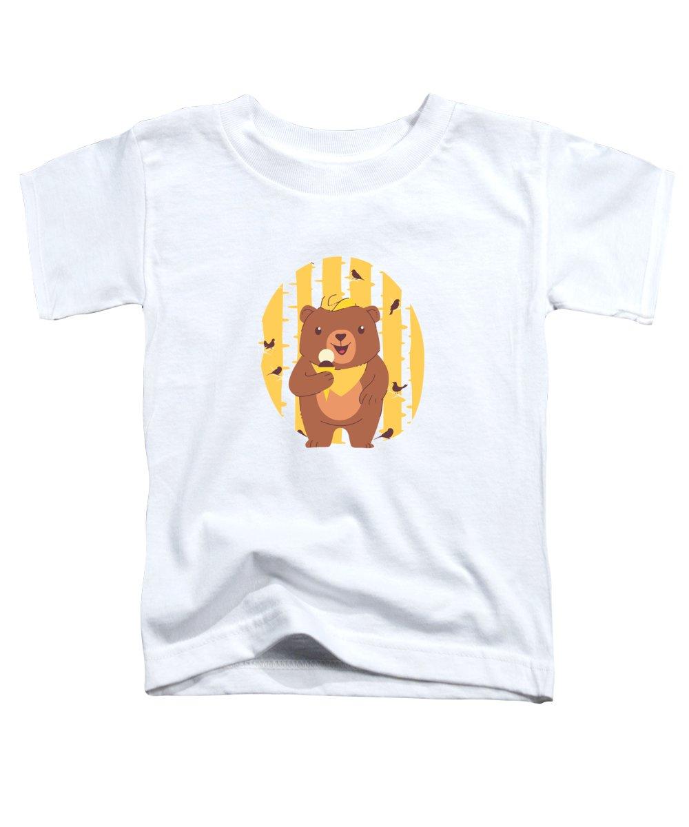 Ice Digital Art Toddler T-Shirts