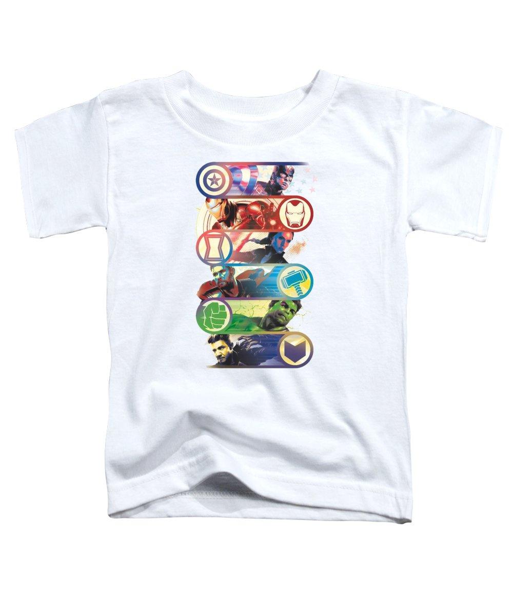 Avengers Toddler T-Shirt featuring the digital art Endgame by Cristian Jesus