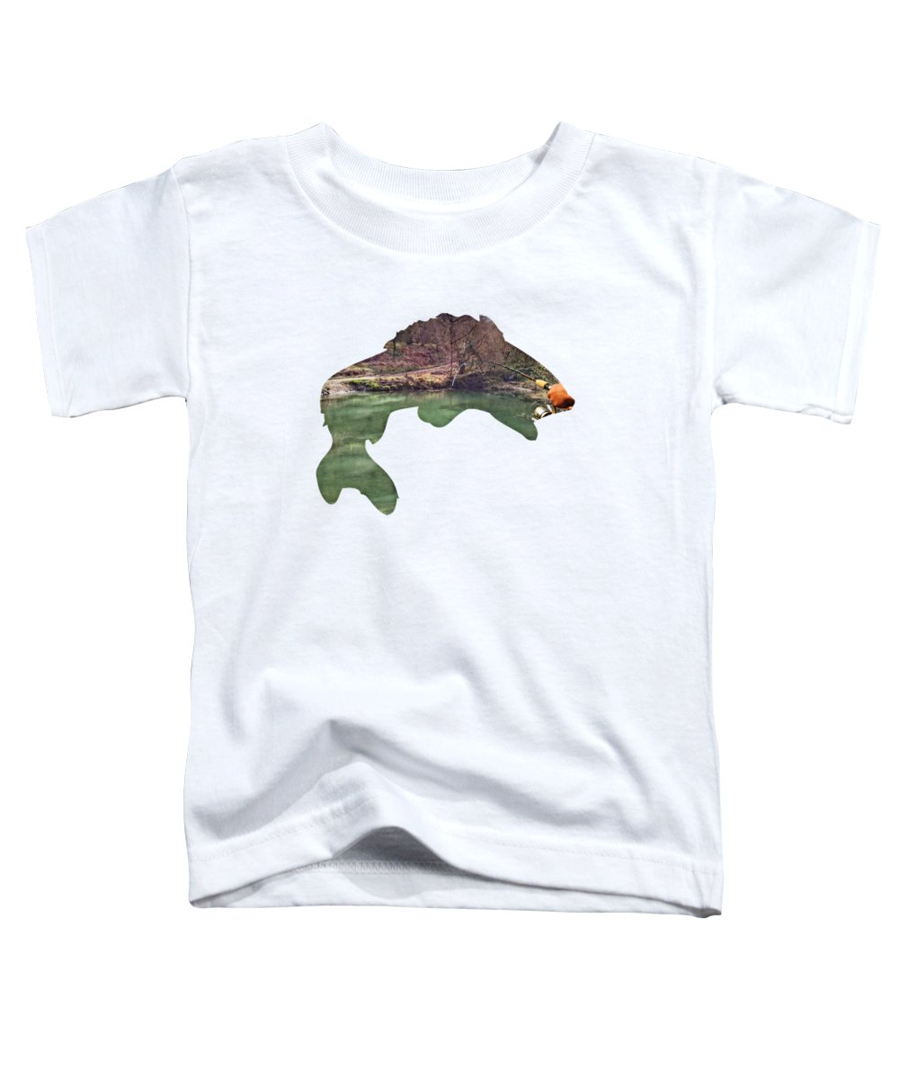 2d Toddler T-Shirt featuring the photograph Gone Fishing by Brian Wallace