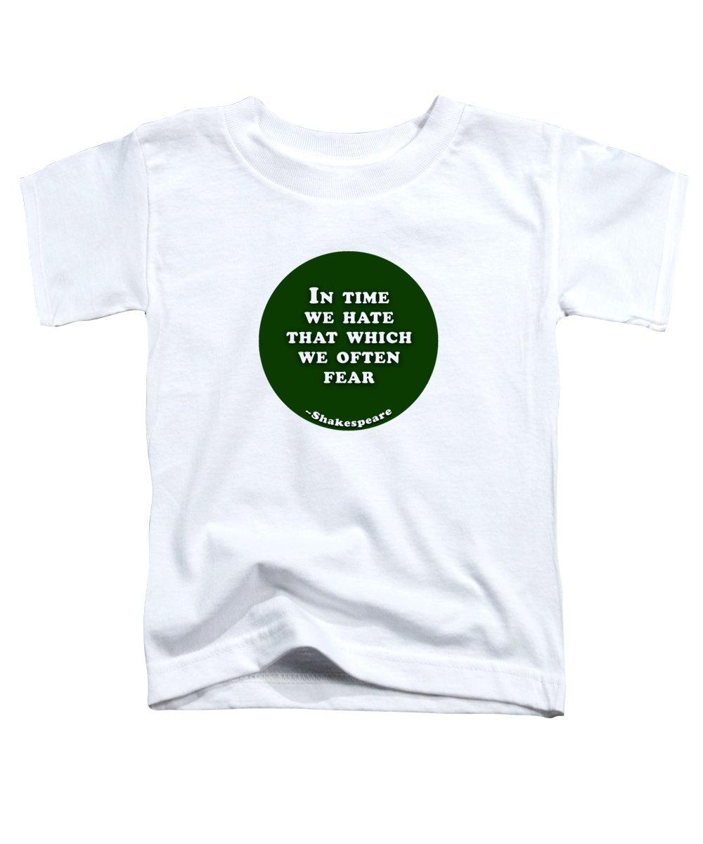 Often Toddler T-Shirts
