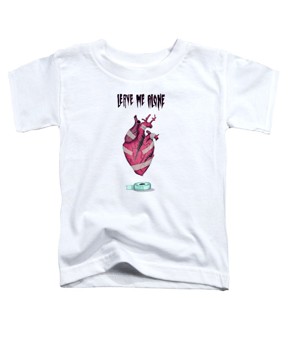 Leave Drawings Toddler T-Shirts