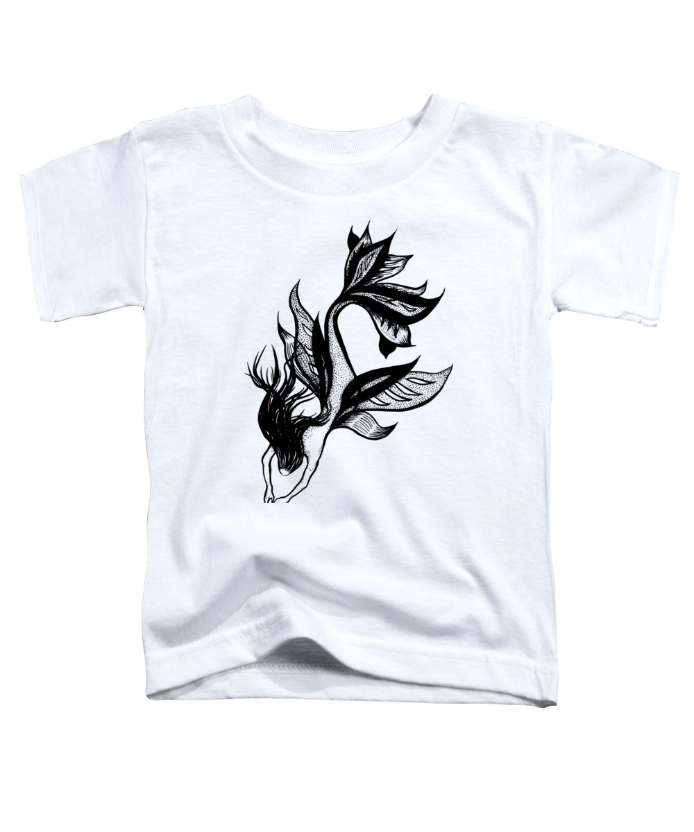 Black Magic Drawings Toddler T-Shirts