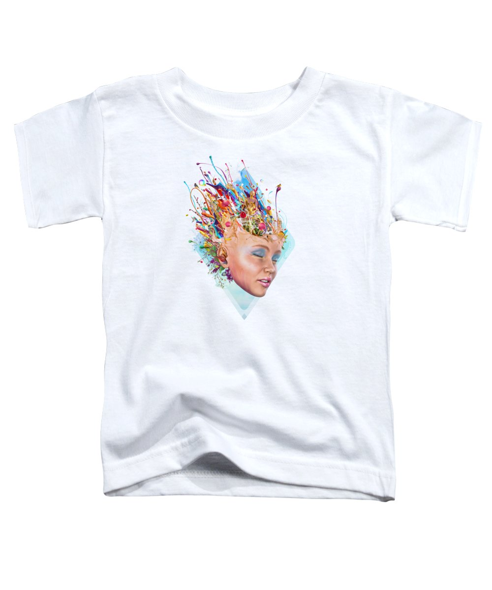 Petals Toddler T-Shirts