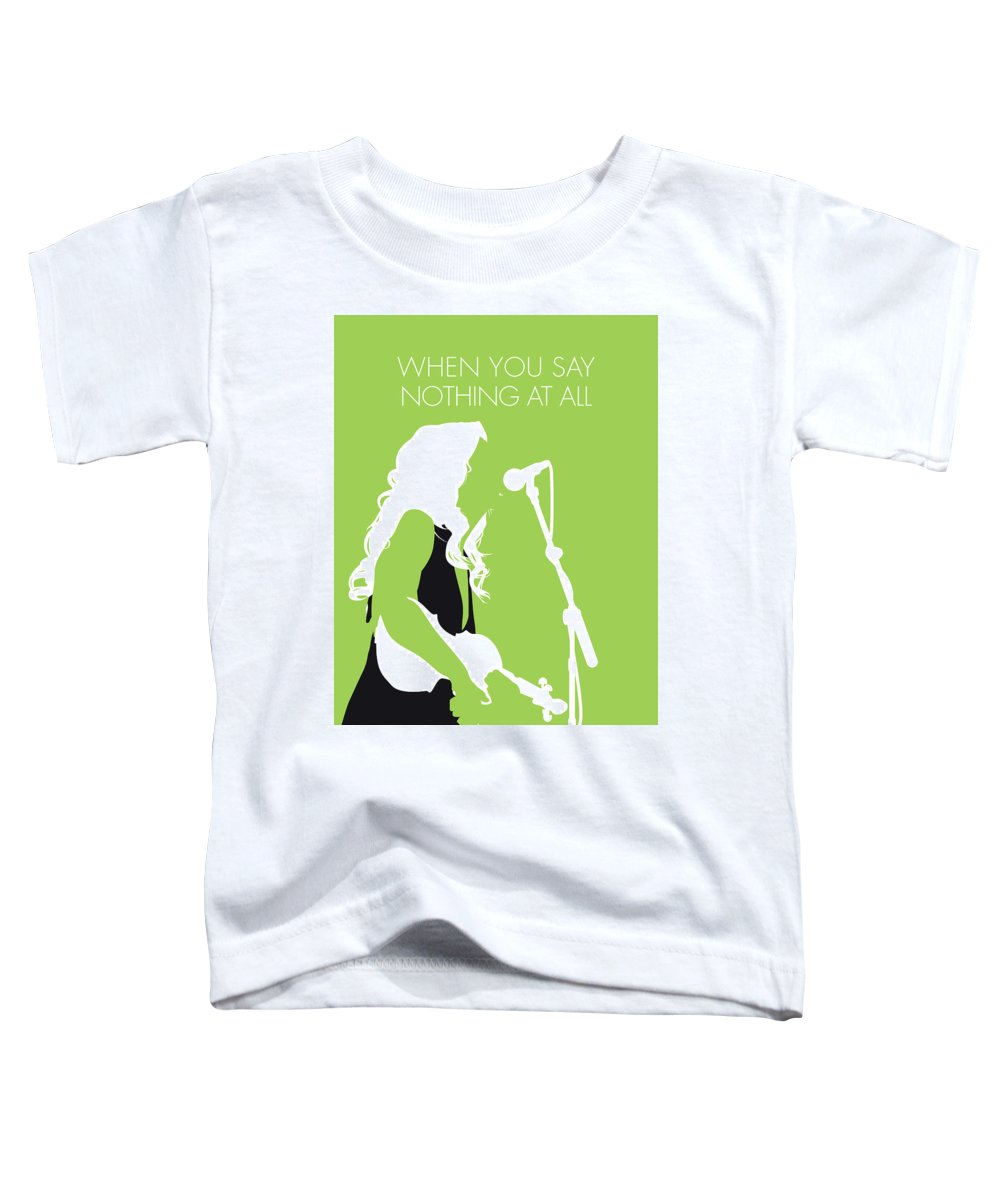 Alison Toddler T-Shirt featuring the digital art No276 My Alison Krauss Minimal Music Poster by Chungkong Art