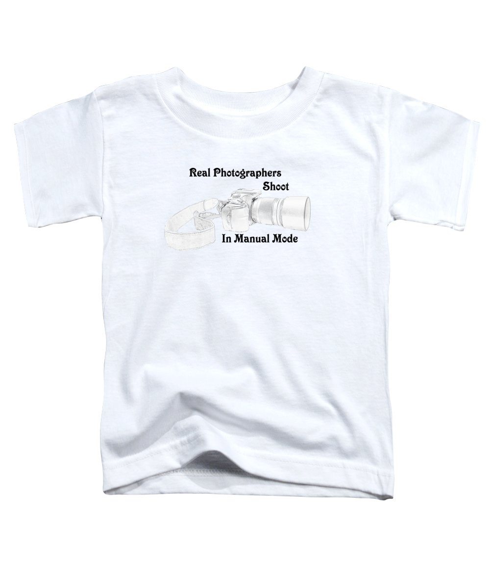 Drawing Toddler T-Shirt featuring the mixed media Real Photographers by Jennifer White