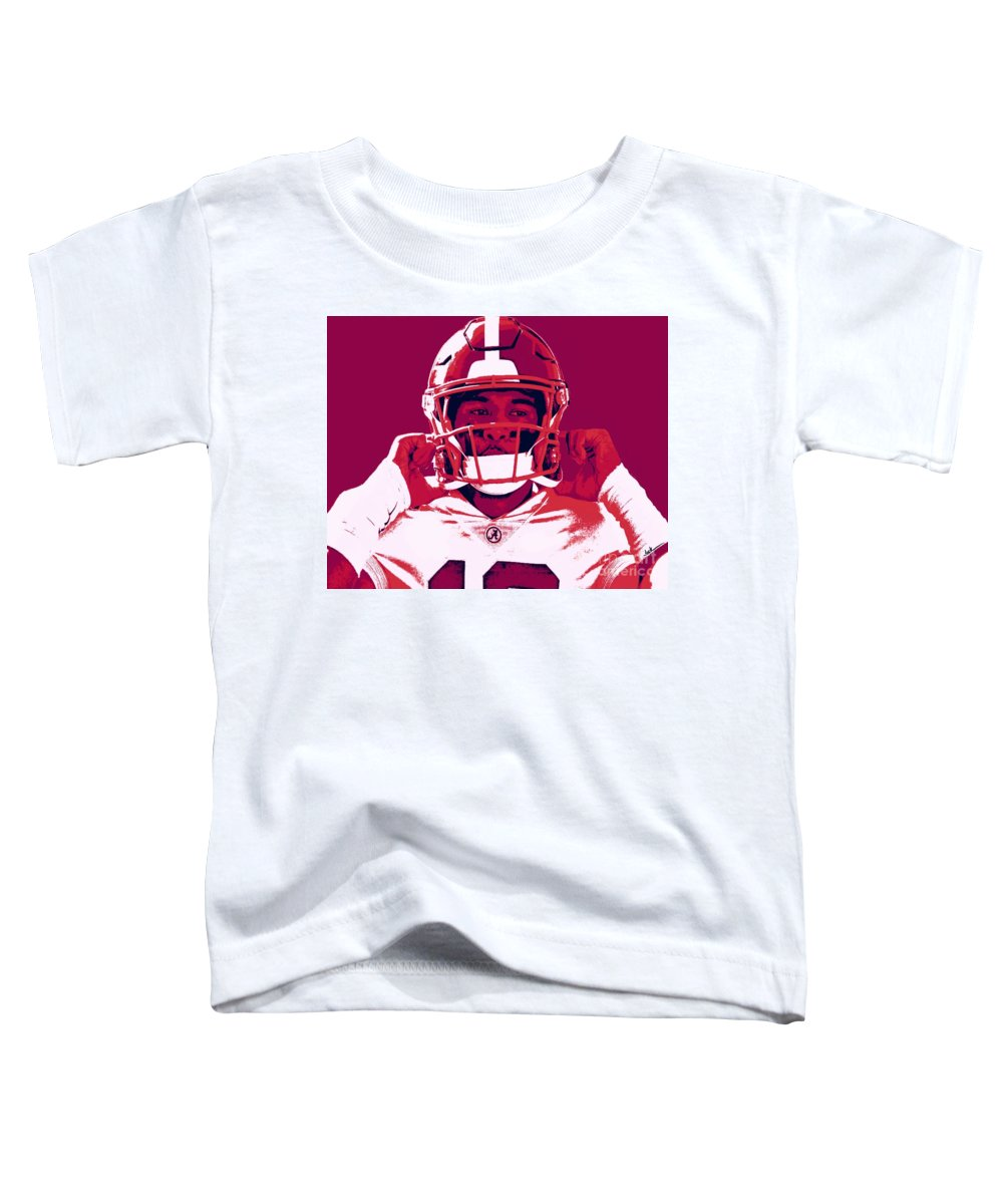 Tua Toddler T-Shirt featuring the painting Tua by Jack Bunds