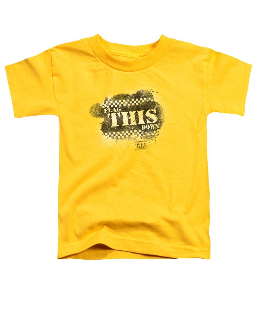 New York City Taxi Toddler T-Shirts