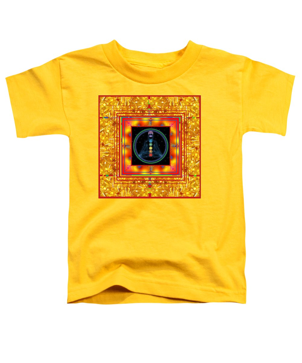 Toddler T-Shirt featuring the digital art Find Your Mind by Kenneth A Post
