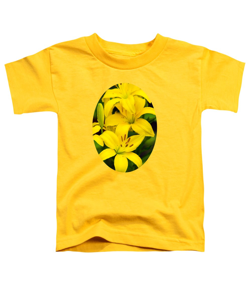 Lilies Toddler T-Shirts