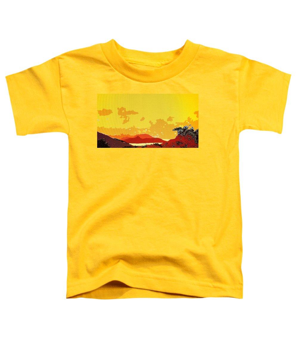 Caribbean Toddler T-Shirt featuring the photograph Caribbean Sky by Ian MacDonald