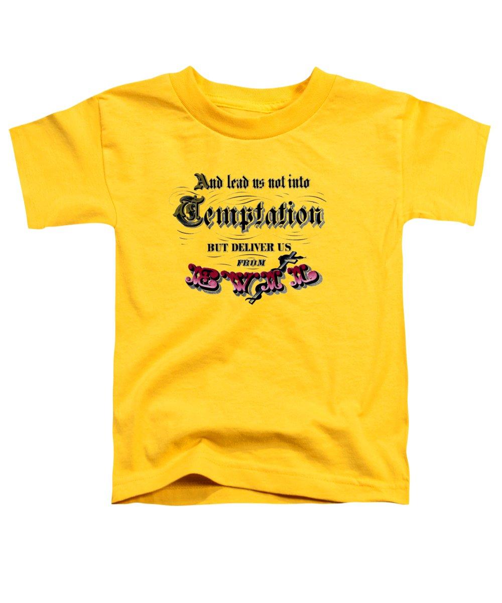 Temptation Toddler T-Shirts