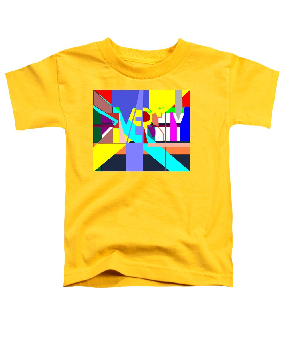 Diversity Toddler T-Shirt featuring the digital art Diversity Enmeshed by Pharris Art