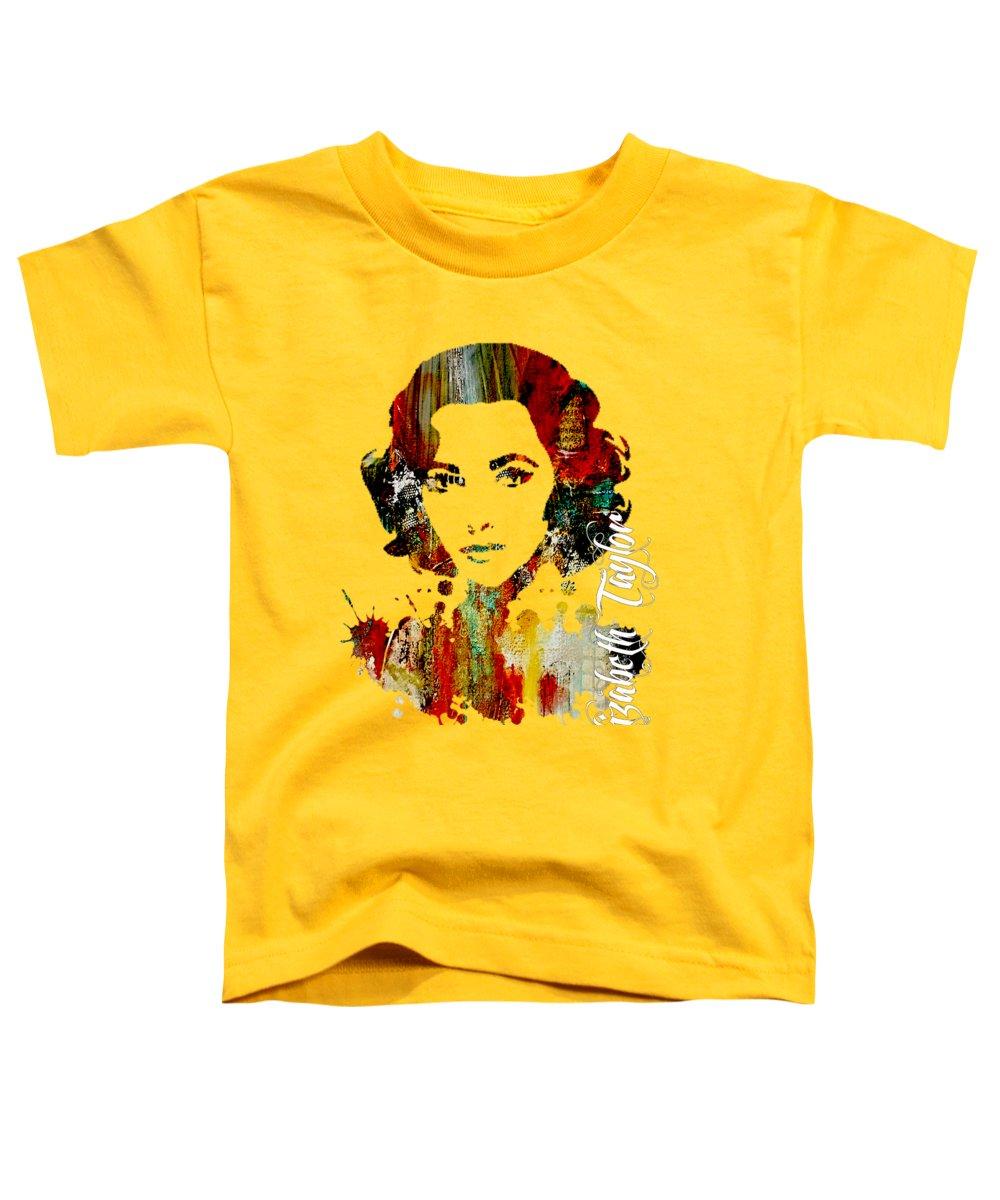 Elizabeth Taylor Toddler T-Shirts