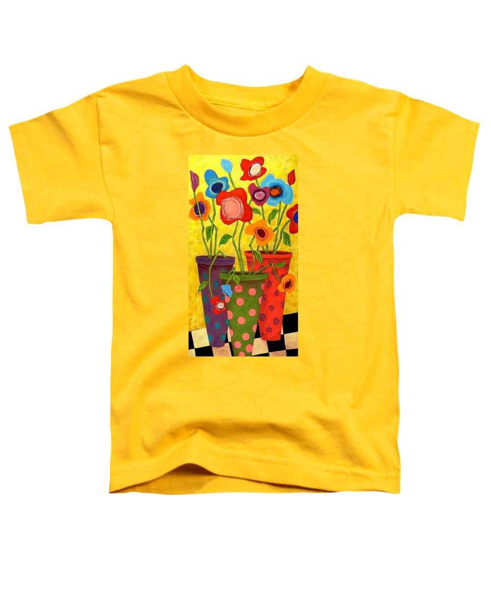 Outsider Paintings Toddler T-Shirts
