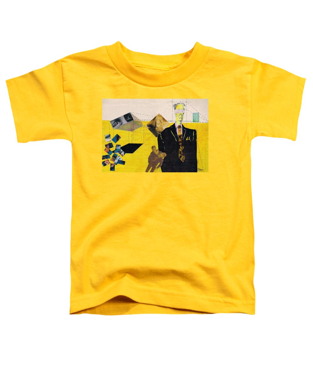 Idol Icon Conflict Lies Vicious Toddler T-Shirt featuring the mixed media Idolatry by Veronica Jackson