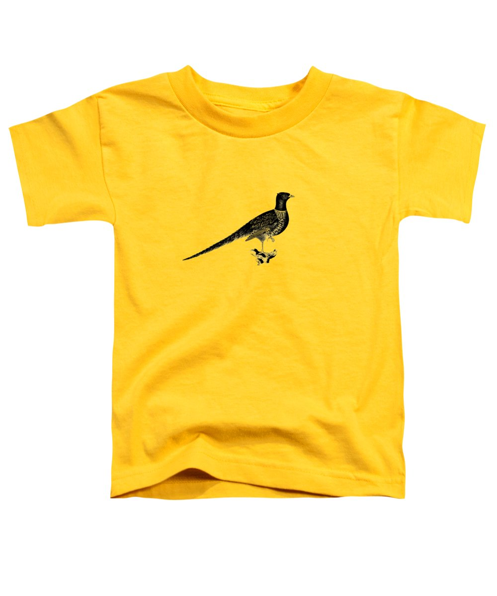 Pheasant Toddler T-Shirts