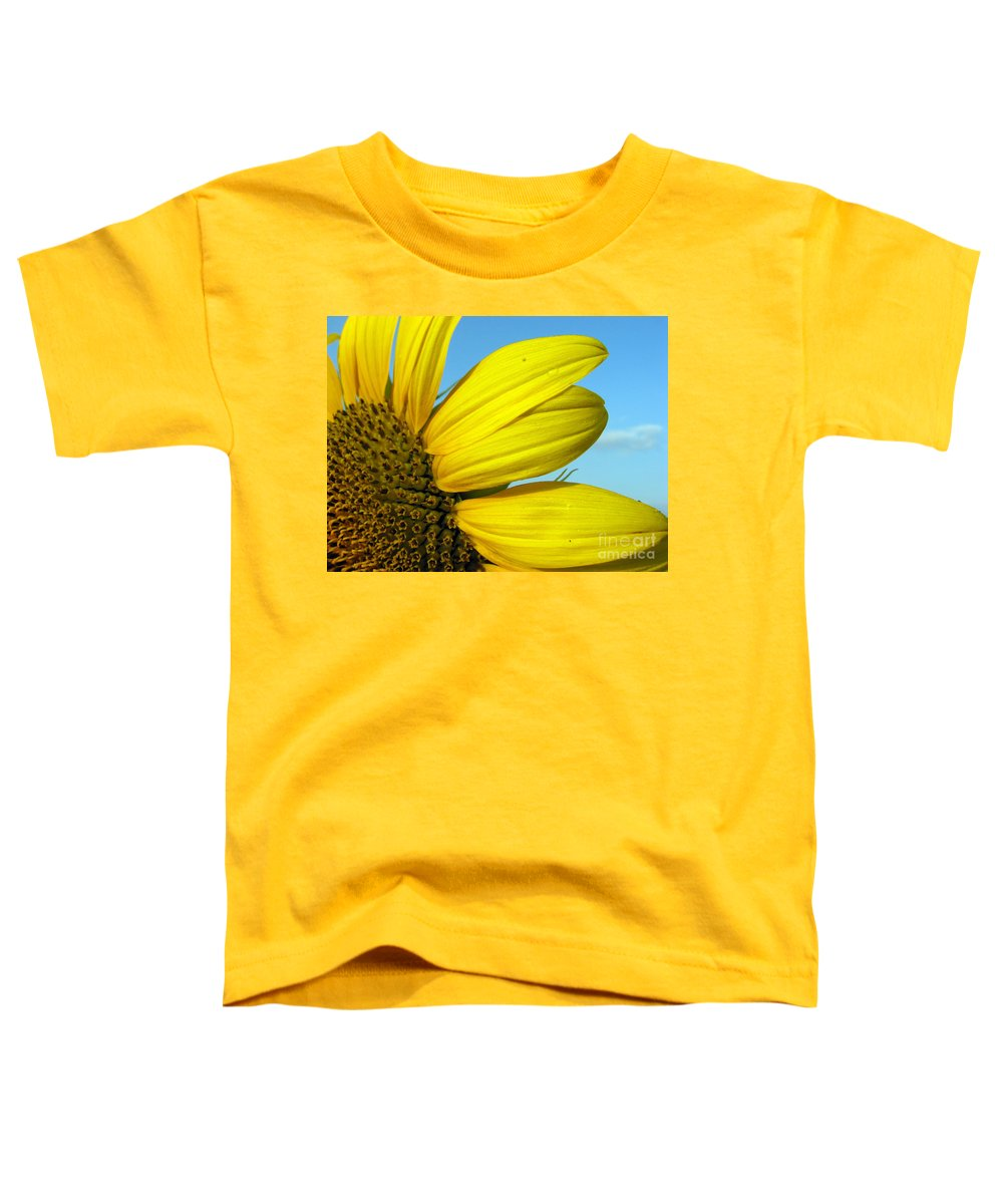 Sunflowers Toddler T-Shirt featuring the photograph Sunflower by Amanda Barcon