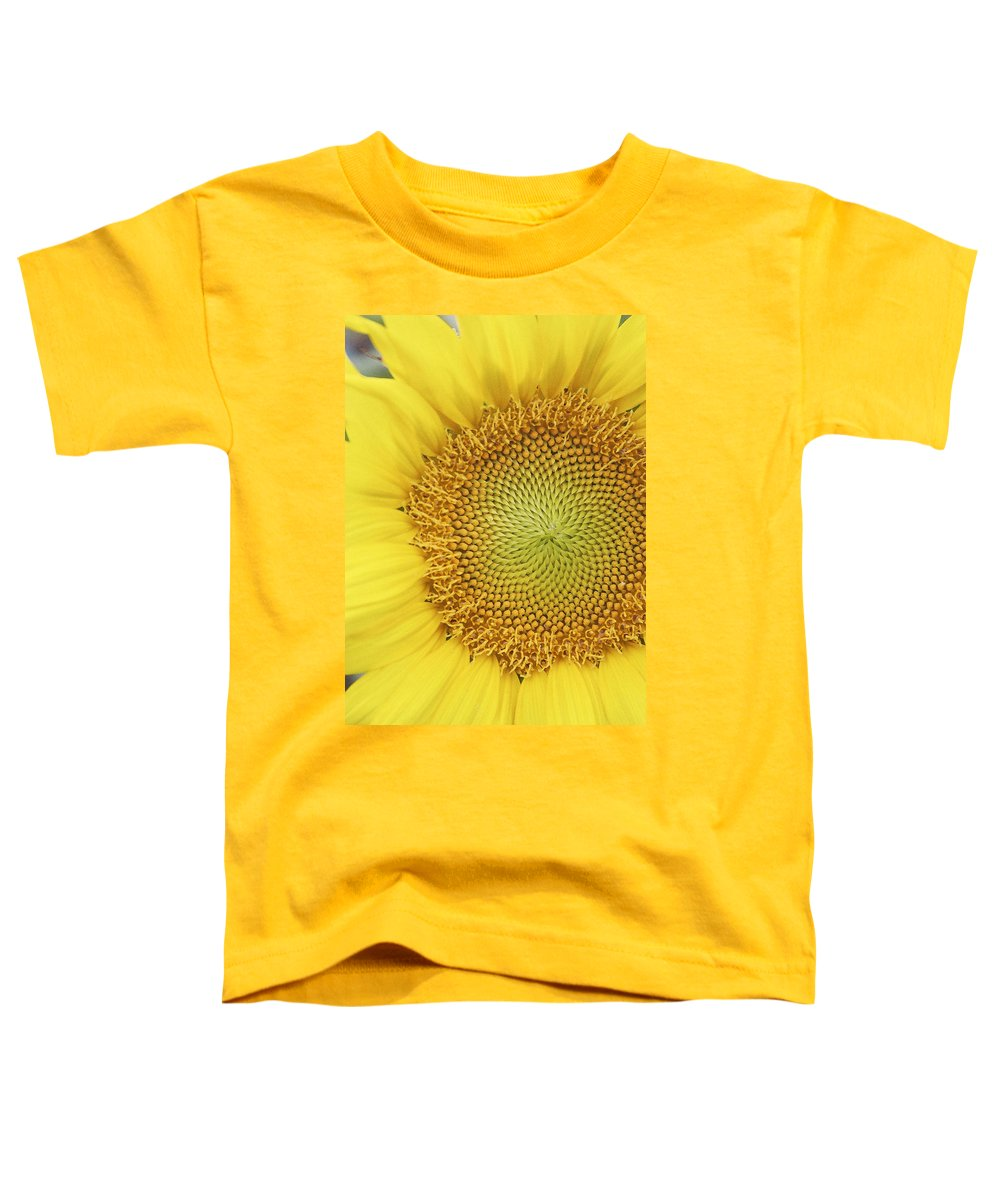 Sunflower Toddler T-Shirt featuring the photograph Sunflower by Margie Wildblood