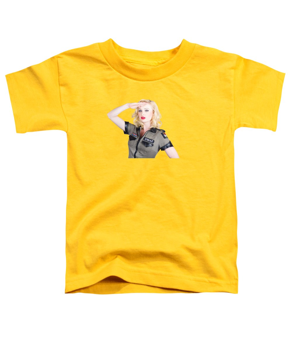 Pensive Toddler T-Shirts