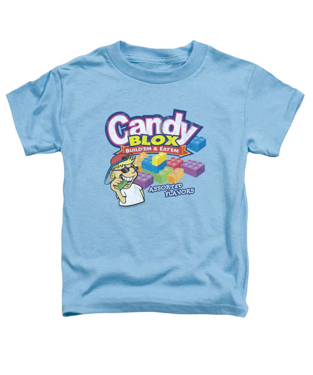 Dubble Bubble Toddler T-Shirt featuring the digital art Dubble Bubble - Candy Blox by Brand A