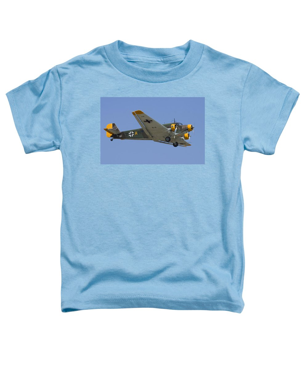 3scape Photos Toddler T-Shirt featuring the photograph Junkers Ju-52 by Adam Romanowicz