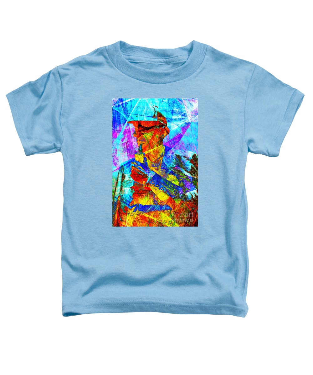 Sherlock Holmes Toddler T-Shirt featuring the photograph Sherlock Holmes 20140128 by Wingsdomain Art and Photography