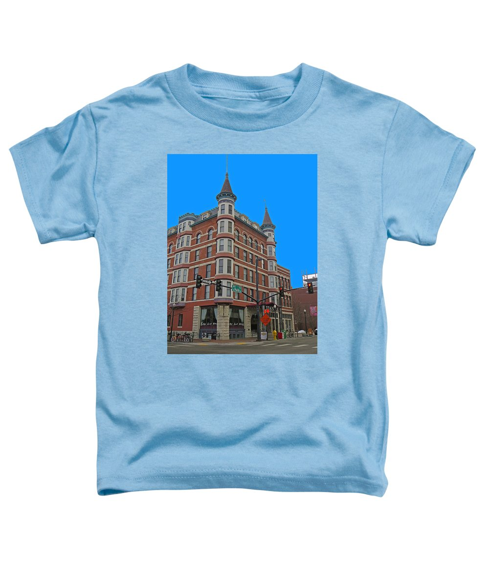 In Focus Toddler T-Shirt featuring the photograph Weiser by Dart and Suze Humeston