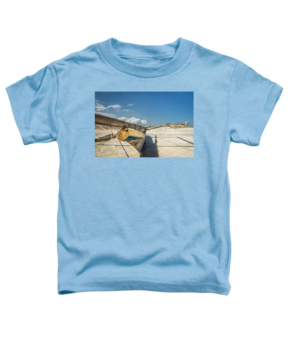 3scape Toddler T-Shirt featuring the photograph Zanzibar Outrigger by Adam Romanowicz