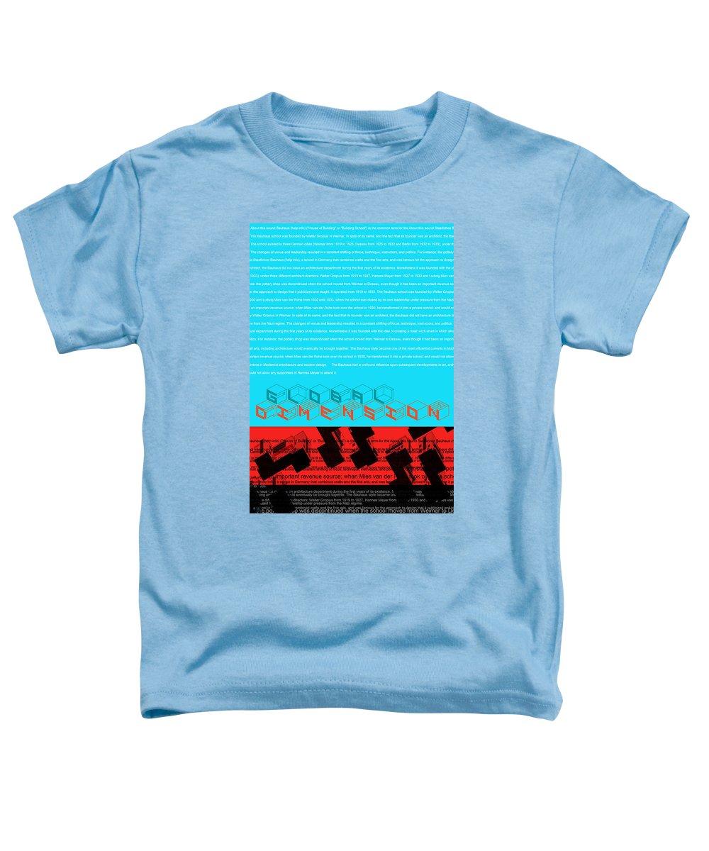 Bauhaus Mixed Media Toddler T-Shirts
