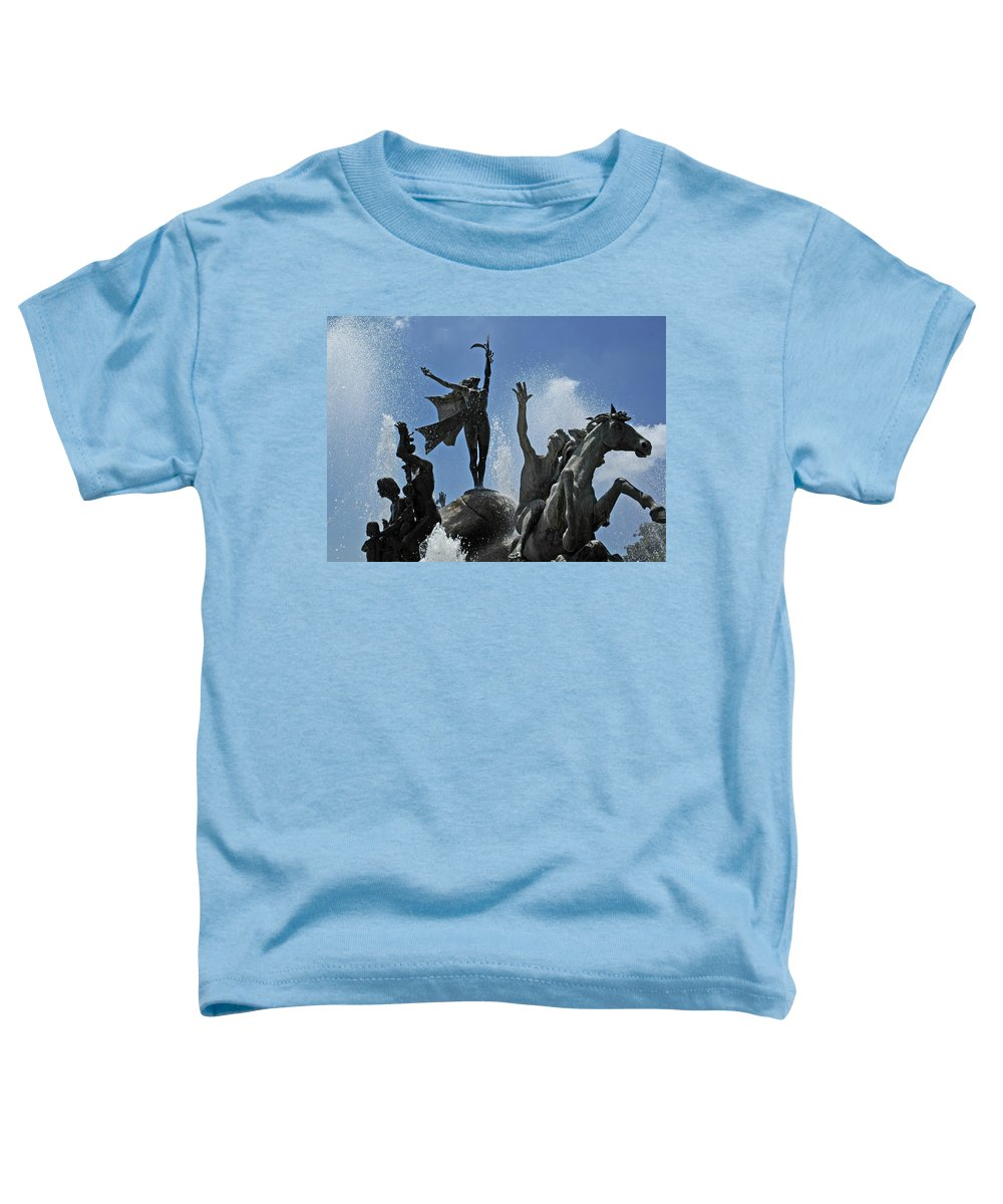 Statue Toddler T-Shirt featuring the photograph Old San Juan Puerto Rico by Tito Santiago